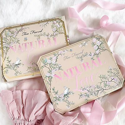 30 Color Too Faced Natural Love Eye Shadow Eyeshadow Make Up Funfetti Palette✔