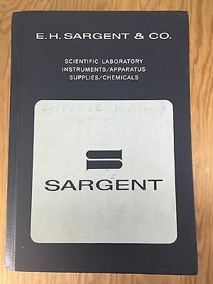 Vtg EH Sargent & Co 1964 Catalog 113 Scientific Steampunk Tool Industrial Book
