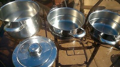 3 Tier Stainless Steel Steamer Pans
