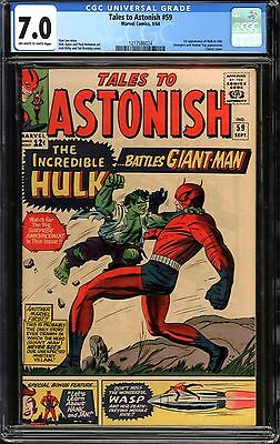 Tales to Astonish #59 CGC 7.0