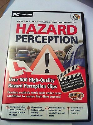 GSP Hazard Perception PC DVD-ROM UK's most realistic hazard perception aid 2092B