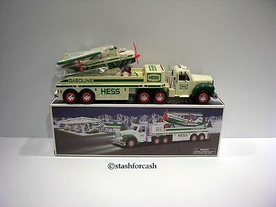 2002 Hess Truck & Airplane - Read Details!