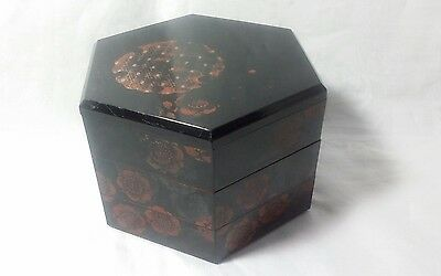 vintage MMA chinese hand pained food basket