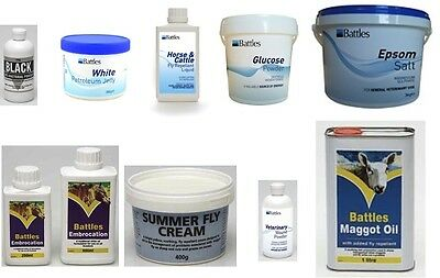 VETERINARY WOUND POWDER (Anti-Bacterial Powder), Epsom Salts, Glucose, First Aid
