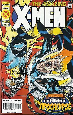 """the Age Of Apocalypse: The Amazing X-Men #2 (1995) Fn Marvel Comics (Mr-1)"