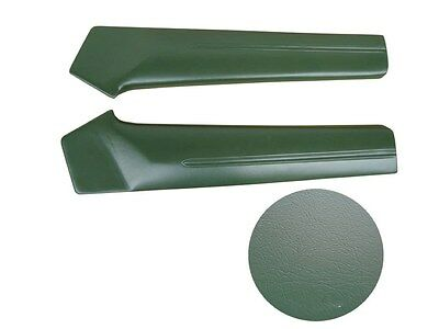 PG Classic 1810-68RG Mopar Dodge 1968 Charger Upper Rear Door Panels Pad GREEN
