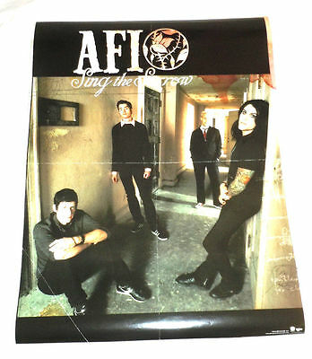 AFI~Sing The Sorrow~Promo Poster~18x24~Excellent Condition