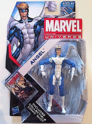 "Marvel Universe Series 4 #21 ""angel"" 3.75 Inch Action Figure New Moc 2011 Blue"
