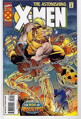 Astonishing X-Men #2 (1995) FN Marvel Comic Book Age Of Apocalypse (MR-1)