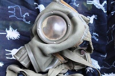 2WW German Army Gas Mask made in 1938 -FIRST MODEL!!!!, stamps,straps