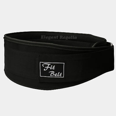 Fit Belt Weight Lifting Belt Gym Fitness Back Support Padding