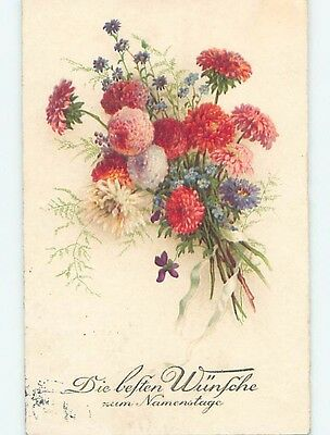 Pre-Linen foreign BEAUTIFUL ASSORTMENT OF FLOWERS IN BUNCH HL7763