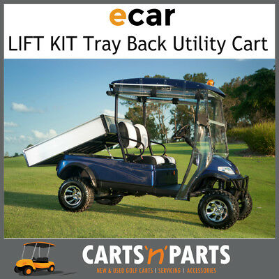 A627.H2 Tray Back LIFT KIT Golf Cart CARGO carrier