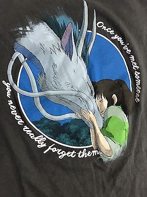 Spirited Away T Shirt Vintage 2001 Juniors XL Her Universe Studio GHIBLI