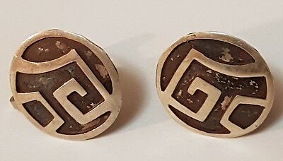 Vintage Sterling Silver Earring - Pierced - 925 Silver Check them out Non pierce
