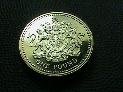 GREAT  BRITAIN     1  Pound    1983    PROOF