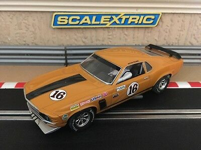 Scalextric Slot Car Ford Mustang Boss 302 - 1969 Trans-Am Championship (C3651)
