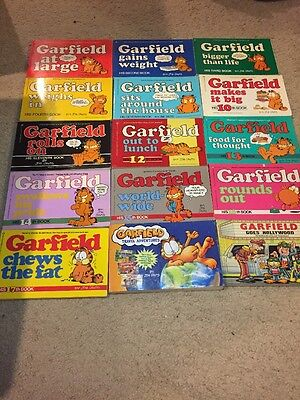 Lot Of Mixed Vintage Garfield Comic Books Collectibles Jim Davis