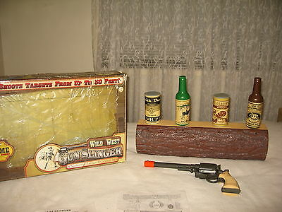 electronic target shooting game set - wild west gun slinger