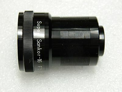 Super Sankor - 16  F 1.5 38 mm Projection lens.
