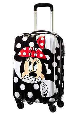Trolley American Tourister Disney Legends Cabin Size Spinner 19C*006 Minnie Dots