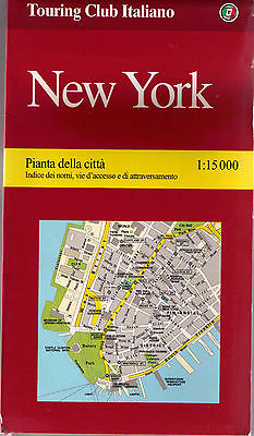 New York 1:15.000 mappa - Touring - Cartina Nuova in Offerta!