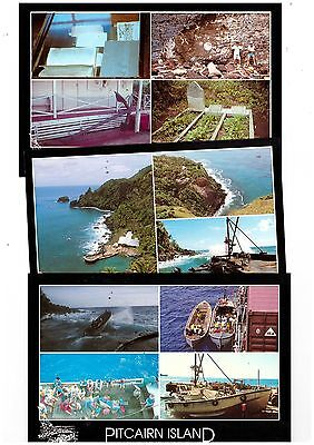 Pitcairn Island Group of Postcards   ( 6 items )