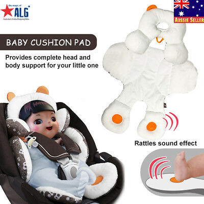 Soft Cotton Baby Kids Car Seat Stroller Cushion Pad Pushchair Pram Mat 2017