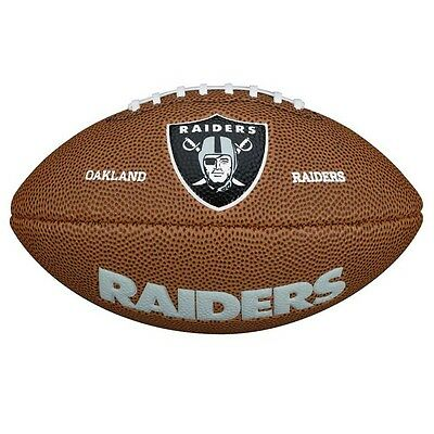 NFL Oakland Raiders MINI Soft Touch Gridiron Supporters Ball by Wilson