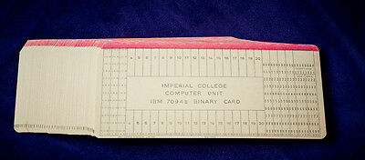 Vintage IBM punch cards - new Lot of 50