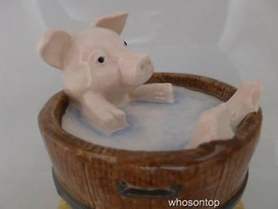 Beswick - Beatrix Potter - Yock Yock in the Tub - 10A - Pig figurine