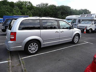 2009 Chrysler Grand Voyager Limited Crd 160 Automatic 7 Seater Mpv Peoplecarrier