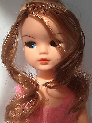 synthetic wig hair for DIY RE-ROOTING Sindy Barbie BJD Blythe and Fashion Dolls