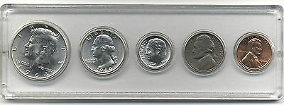 1964 U.S.A. Coin Set In Whitman Holder***Uncirculated***Collectors***(2)