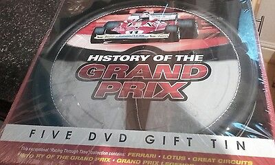 NEW History of the Grand Prix  DVD NEW
