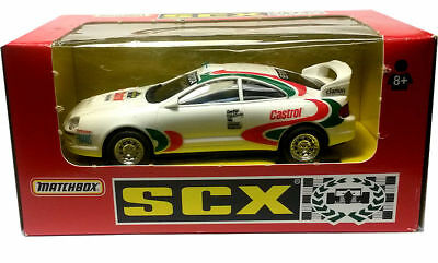 SCX 83930 Toyota Celica Swedish Rally - ex demo slot car suits Scalextric track