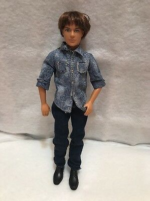 BARBIE 2006 BLAINE Cali Boy Doll Brown rooted hair blue eyes