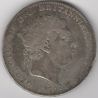 1820 George III Silver Crown***Collectors***(3)
