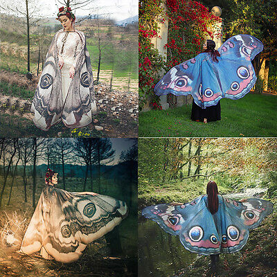 Shawl Scarf Butterfly Scarf 1Pcs Fairy Wings Pixie Nymph Costume Accessory