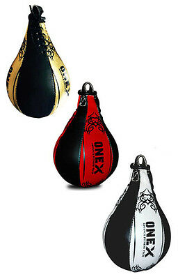 A Leather Boxing Speed Ball MMA Punching Workout Training Single End Speed Ball