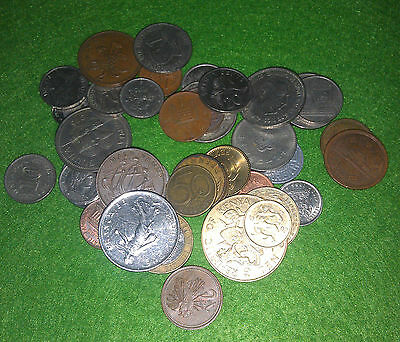 40 DIFFERENT mixed world coins! ALL DIFFERENT - NO DUPLICATES in each lot