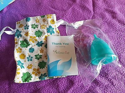 Athena Menstrual Cup - #1 Recommended Period Cup Includes Bonus Bag - Size 2