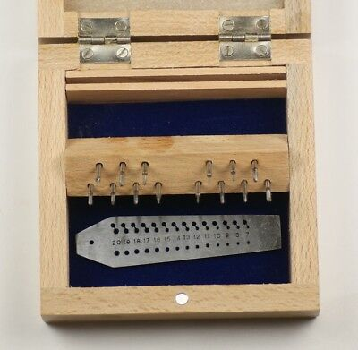 Boxed Quality Screw Plate with 14 Taps & Dies  Watchmakers Jewellers tap die