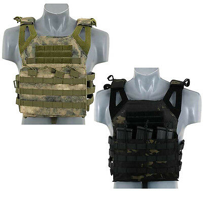 Fields Jump Plate Carrier Vest Airsoft Military Style Molle Modular Vest 1025