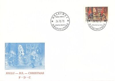 Finland 1979 FDC - Christmas