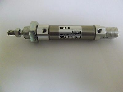 SMC. C85N16-20, Standard Cylinder, Double Acting, Single Rod.