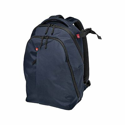 Manfrotto Backpack (Navy) MB NX-BP-VBU for DSLR with Lenses and Laptop
