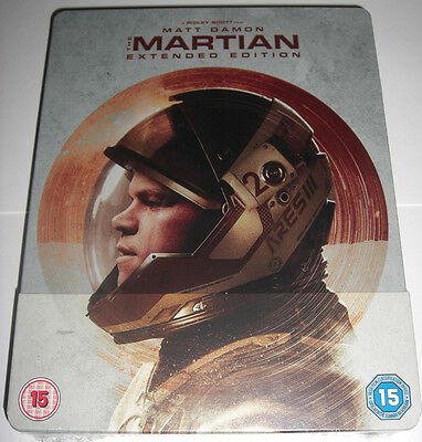 The Martian | Der Marsianer Extended Edition Blu-Ray Steelbook Edition NEU NEW