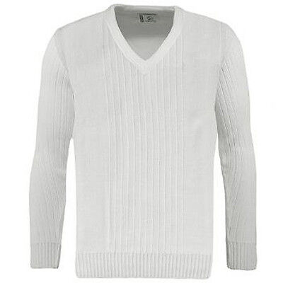 Greenplay Bowlswear Ribbed White Bowls  Pullover -  Prices Reduced.