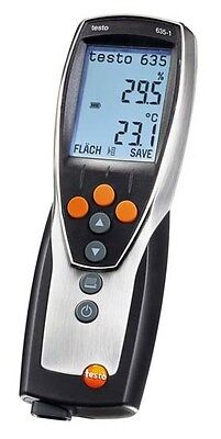 Testo 635-1 (0560 6351) Thermo-Hygrometer with Air Moisture
